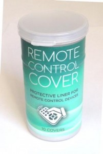 Remote cover container